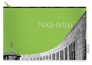 Nashville Skyline Country Music Hall Of Fame - Olive Carry-all Pouch