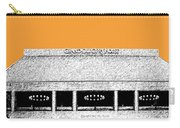 Nashville Skyline Grand Ole Opry - Orange Carry-all Pouch