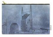 Nashville Skyline Sketch Carry-all Pouch