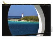 Nassau Lighthouse Porthole View Carry-all Pouch