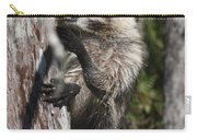 Nasty Raccoon In A Tree Carry-all Pouch