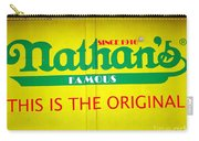 Nathan's Famous Carry-all Pouch