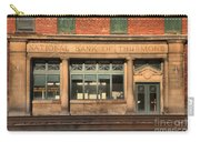 National Bank Of Thurmond Carry-all Pouch