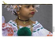 National Costume Of Panama Carry-all Pouch