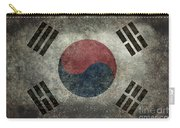 National Flag Of South Korea Desaturated Vintage Version Carry-all Pouch