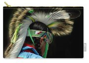 Native American Boy Carry-all Pouch