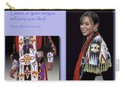 Native American Proverb Carry-all Pouch