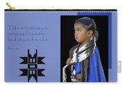 Native American Saying Carry-all Pouch