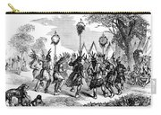 Native American Scalp Dance Carry-all Pouch