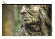 Native American Statue At Niagara Falls State Park Carry-all Pouch