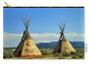 Native American Teepees  Carry-all Pouch