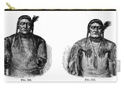 Native Americans: Sign Language Carry-all Pouch
