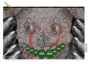 Native Indian Skull Art Carry-all Pouch