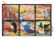 native Texas wildflowers B Carry-all Pouch by Michael Dillon
