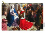 Nativity And Adoration Of The Magi Carry-all Pouch