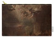 Nativity Of Mary Carry-all Pouch by Andrea Celesti