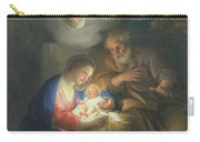 Nativity Scene Carry-all Pouch by Anton Raphael Mengs