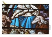 Nativity Stained Glass Carry-all Pouch