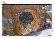 Natural Bridge At Bryce Canyon National Park Carry-all Pouch