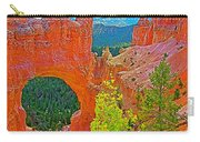 Natural Bridge In Bryce Canyon National Park-utah  Carry-all Pouch