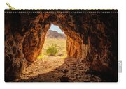 Natural Cave Above The Valley Of Fire Carry-all Pouch