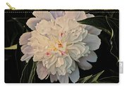 Natural Peony Carry-all Pouch