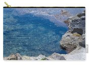 Natural Pool Of Seawater Carry-all Pouch