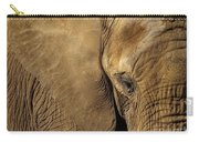 Natural Sepia Carry-all Pouch