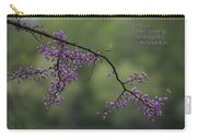 Nature Does Not Hurry Blossoms In Purple Carry-all Pouch