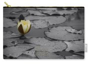 Nature Does Not Hurry Waterlily Carry-all Pouch
