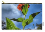 Nature Does Not Hurry Zinnia Standing Tall Carry-all Pouch