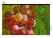 Nature Goodness Grapes On The Vine Carry-all Pouch