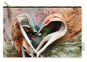 Nature Has A Heart  Carry-all Pouch