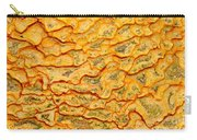 Nature Pattern Iron Oxide Mineral Sediment Crust Carry-all Pouch
