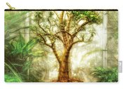 Nature - Plant - Tree Of Life  Carry-all Pouch by Mike Savad
