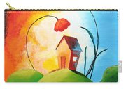 Nature Spills Colour On My House Carry-all Pouch by Nirdesha Munasinghe