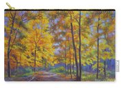 Nature Trail Turn Of Autumn Carry-all Pouch by Fiona Craig