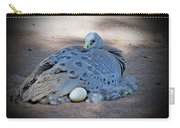 Bird Laying Egg Carry-all Pouch