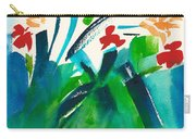Natures Bouquet Abstract Carry-all Pouch