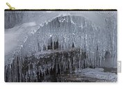 Natures Frozen Cathedral Sculpture Carry-all Pouch
