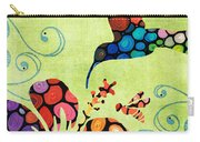 Nature's Harmony 2 - Hummingbird Art By Sharon Cummings Carry-all Pouch