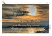Natures Melody With Text Carry-all Pouch