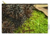 Nature's Moss And Sweetgum Pods Carry-all Pouch