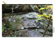 Nature's Mossy Boulders Carry-all Pouch