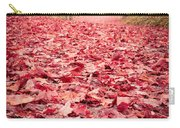 Nature's Red Carpet Revisited Carry-all Pouch by Edward Fielding