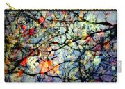 Natures Stained Glass Carry-all Pouch by Karen Wiles