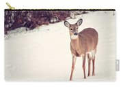 Natures Winter Visit Carry-all Pouch