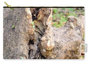 Nature's Wood Abstract Carry-all Pouch