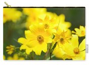 Natures Yellow Carry-all Pouch