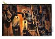 Nautical - Boat - Block And Tackle  Carry-all Pouch by Paul Ward